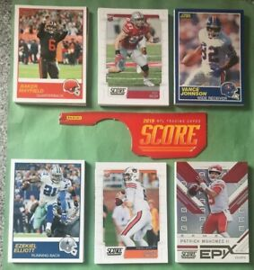 Pick-your-cards-Lot-2019-Score-Football-rookies-parallels-stars-amp-inserts