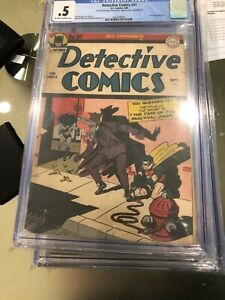 DC-Detective-comics-91-Golden-age-Batman-Joker-cover-and-story-CGC-0-5-DC-9-44