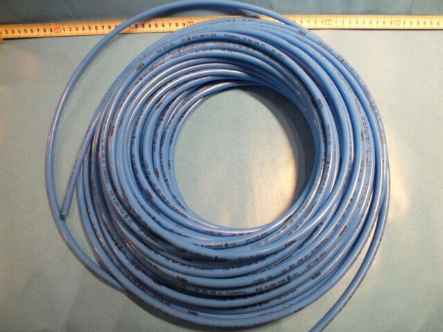 FESTO 197385 PLASTIC TUBING LOT OF 10 METERS PUN-H-8X1,25-BL BLUE