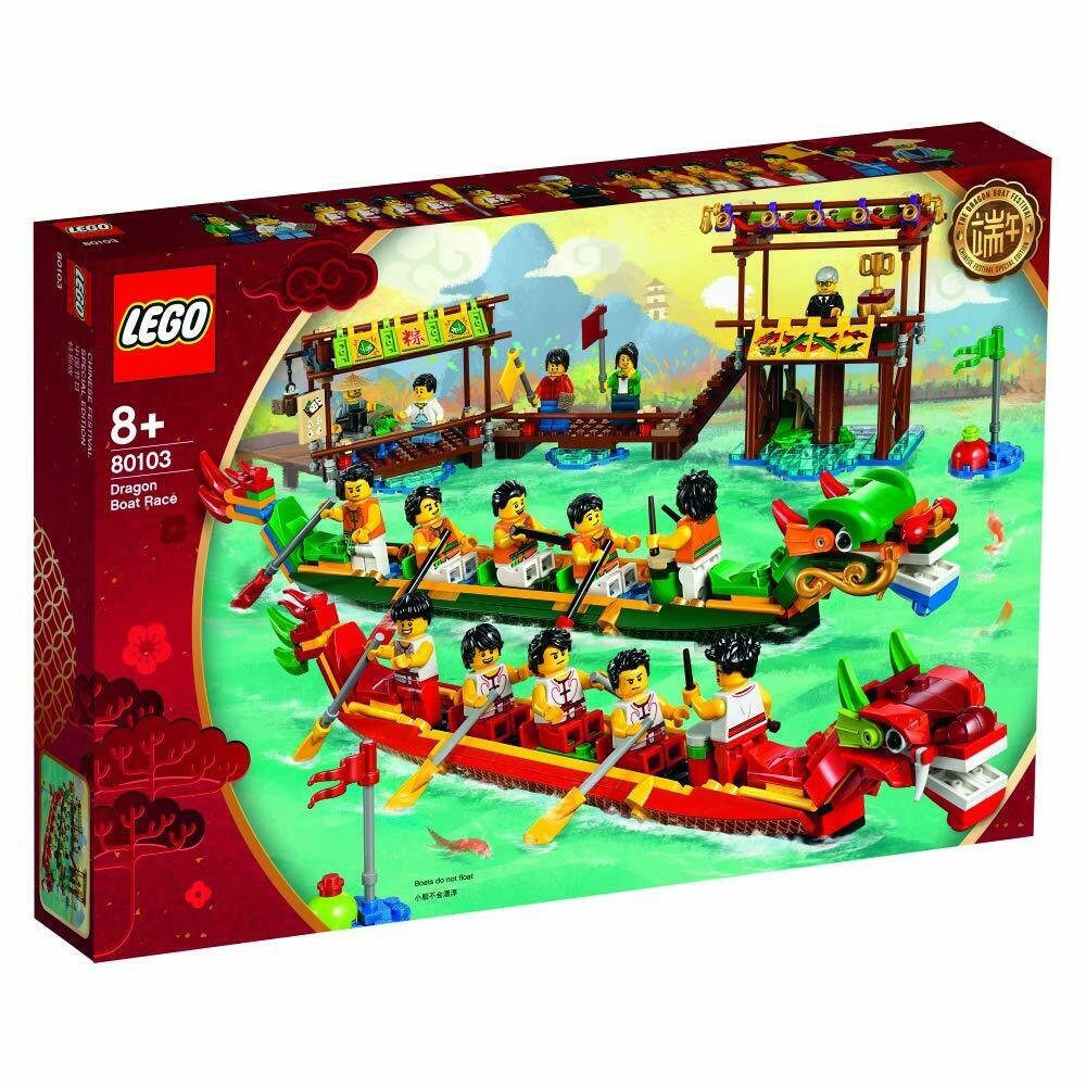 Lego 80103 Dragon Boat Race BNISB