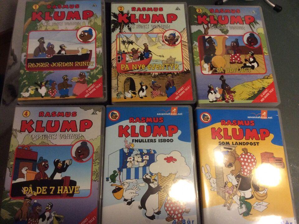 Rasmus klump, DVD, tegnefilm