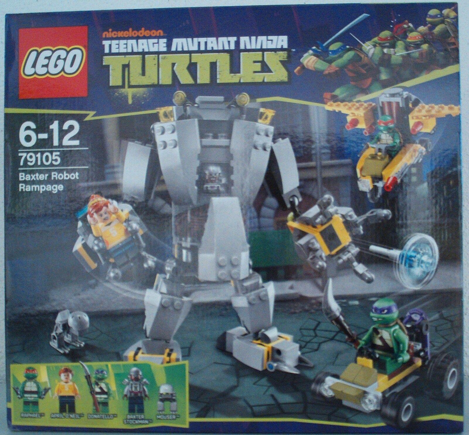 NEU LEGO® Turtles 79105 Baxters Roboter / Baxter Robot Rampage OVP