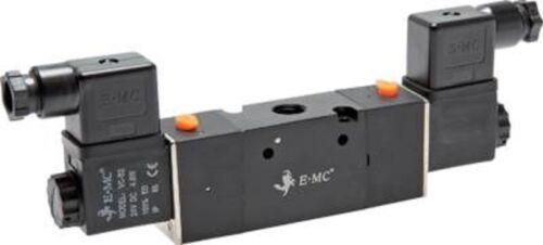 """Wege-Ventil 3//2 Wege Magnetventil G1//4/"""" V30 Federrückstellung oder Impulsventil"""