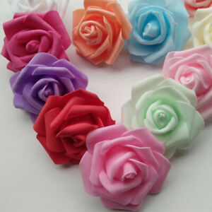 GI-25-50-100Pcs-Artificial-Rose-PE-Foam-Flowers-Head-DIY-Wedding-Home-Decoratio