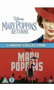 Mary-Poppins-Returns-mary-poppins-Original-2-Movie-Collection-Blu-Ray-NEW