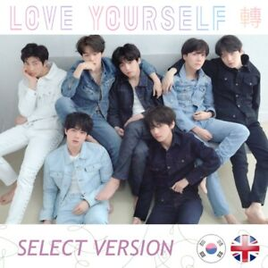 NEW-SEALED-BTS-TEAR-Love-Yourself-Vol-3rd-Album-Kpop-K-pop-UK