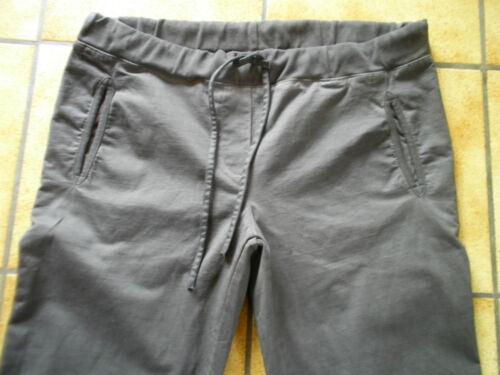 pantaloni grigio Legno parte lagenlook gr sogno da l tondo oliva scuro 5r57wIq