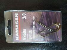 Kamasan b950 u extra sharp bronze uptide hooks size 5//0