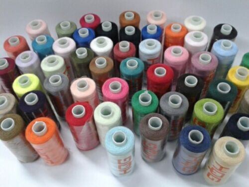 MIXED 72 x 500 YARDS  SEWING MACHINE THREAD  COTTON POLYESTER ASSORTED