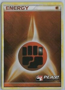 FIGHTING ENERGY HOLOFOIL POKEMON PROMO CARD 2002
