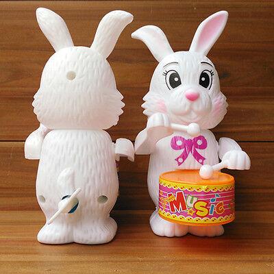 1PCS Fashion Baby Boy Girls Rabbit Drum Educational Developmental Musical ToyTFS