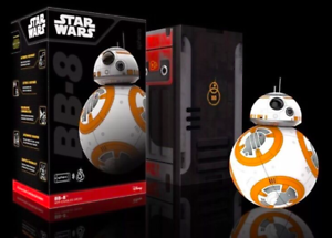 New Open Box Sphero R001ROW Star Wars BB-8 App-enabled Droid Disney