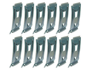 New-1962-63-Galaxie-Moulding-Clips-Rocker-Panel-LH-RH-500-XL-Country-Squire-Ford