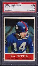 1964 Philadelphia Y.A.Tittle #124 Football Card