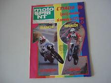 MOTOSPRINT 34/1980 PROVA TEST MOTO SWM 315 RACING GTS