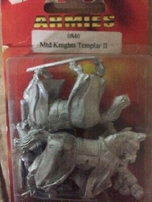 Onestà Harlequin Fa0840 Mounted Knight Templar 2 Per Soddisfare La Convenienza Delle Persone