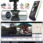 HD Dash-Cam Dual Camera Front+InCab Driving Recorder Car DVR GPS Logger G-Sensor