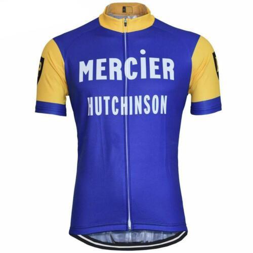 MERCIER BP HUTCHINSON RETRO VINTAGE CYCLING TEAM SHORT SLEEVE SUMMER BIKE JERSEY