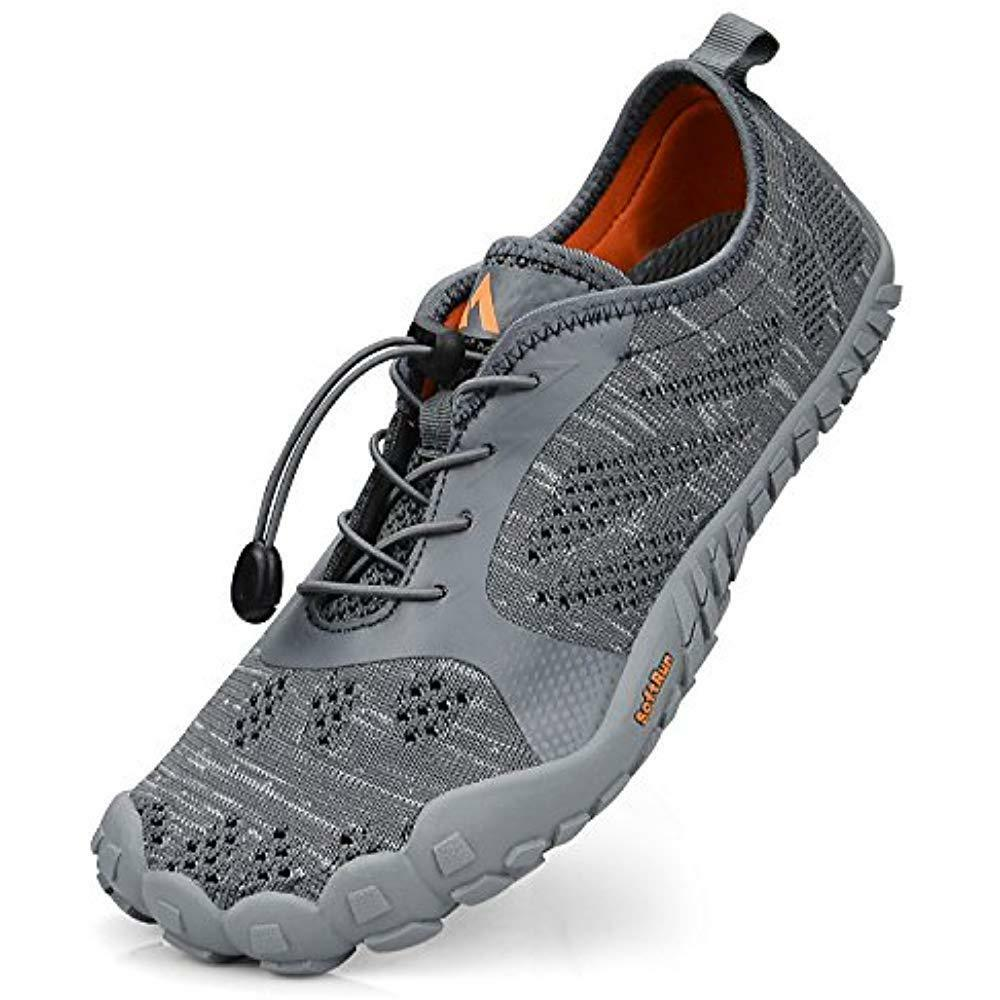 Mens Running shoes Summer Water Mesh Breathable For Barefoot Athletic Hiking Gym