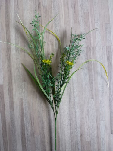 Gras Grasmix Ziergras Kunstpflanze Dekopflanze 56 cm TC-79794ZG ungetopft F47