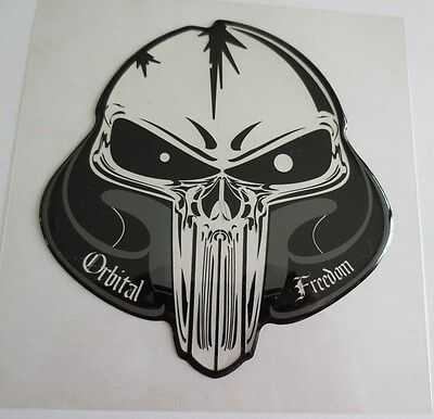 "ORBITAL TANK PROTECTOR PAD 5.6/"" x 7.5/"" UNIVERSAL CLEAR//BLACK PUNISHER"