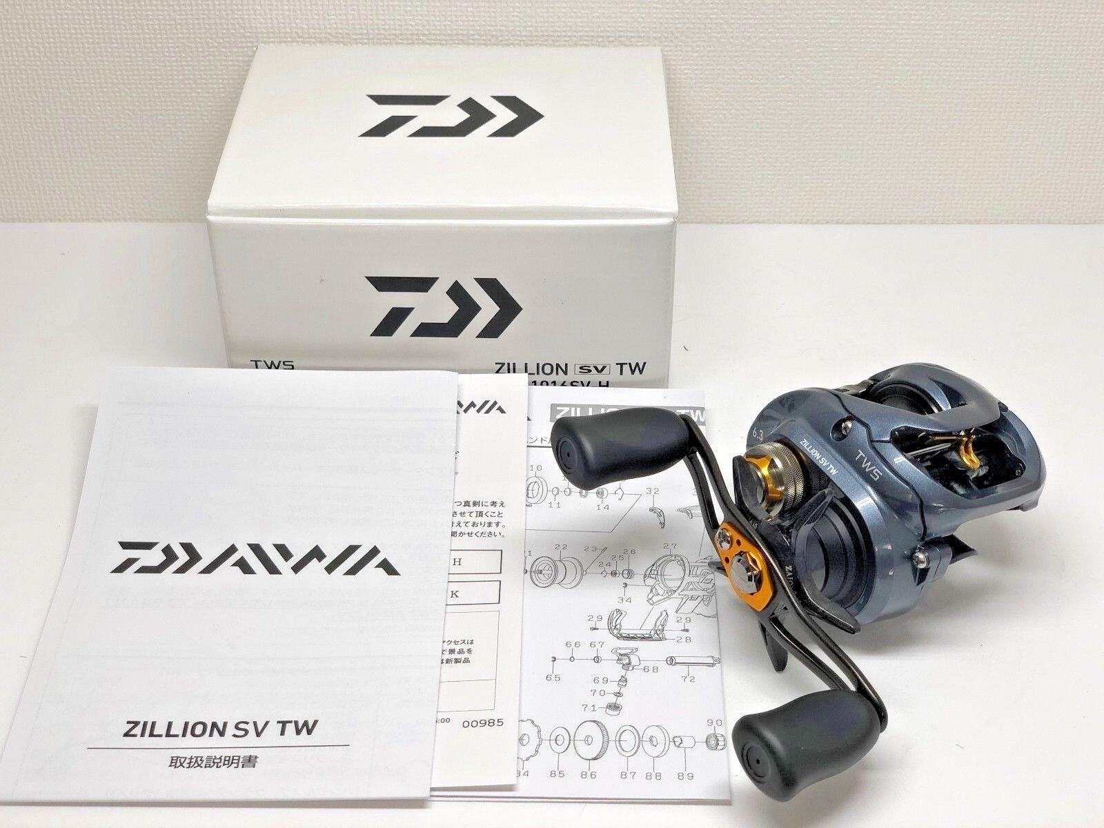 DAIWA 16 ZILLION SV TW 1016SV-H   - Free Shipping from Japan