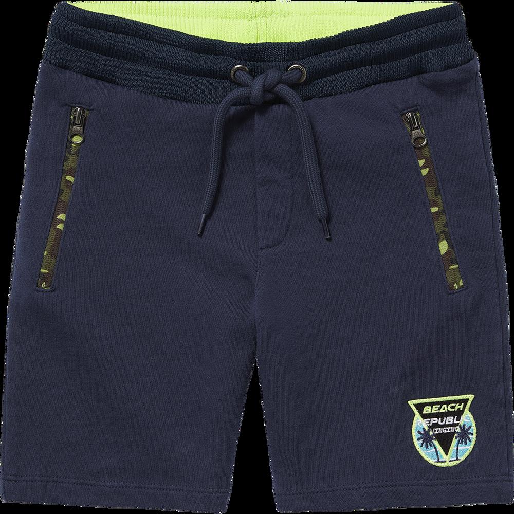 Amical Vingino Boys Shorts Sweatshorts Raf Dark Blue Neuf été 2019 Taille 128/8 Y Jolie Et ColoréE