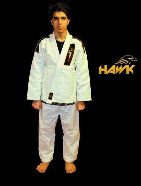 Hawk Brazilian Jiu-Jitsu Jiu-Jitsu Jiu-Jitsu Suit l BJJ Gi Anzug aus Baumwolle 93aaf4