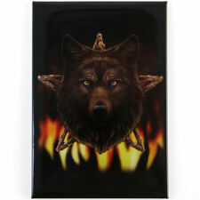 Quality Lisa Parker Fridge Magnet~Fantasy Art~Pentagram Wolf~LP3~uk seller