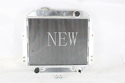 1988-1992  56MM ALUMINUM RADIATOR NISSAN FORKLIFT A10-A25,H20 OEM#2146090H10 A/T