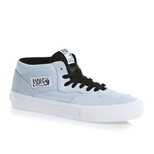 Vans Shoes Half Cab PRO Baby Blue White USA SIZE Caballero Skateboard Sneakers