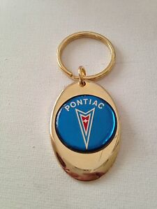 Pontiac Firebird  logo  Key Chain  mint new   lot of 2