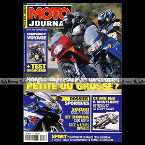 à Condition De Moto Journal N°1440 Honda Xl 650 V Transalp Xlv 1000 Varadero Suzuki Gsxr 1000