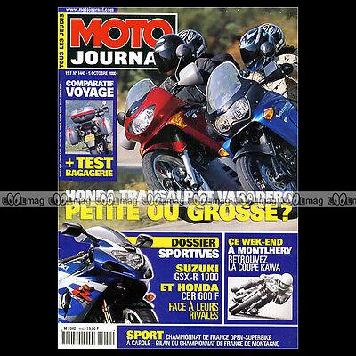 Briljant Moto Journal N°1440 Honda Xl 650 V Transalp ★ Xlv 1000 Varadero ★ Cbr 600 F 2000 Brede VariëTeiten