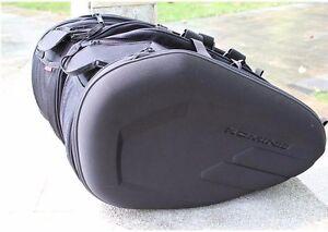 KOMINE SA-212 SADDLE BAGS MOTORCYCLE TAIL BAG LUGGAGE large capacity ... 560554ec034c2