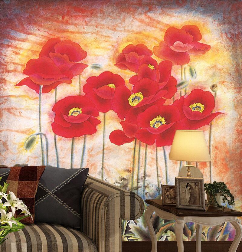 3D 3D 3D Blaumen Malerei Kreativ 8933 Tapete Wandgemälde Tapeten Bild Familie DE Lemon | Nutzen Sie Materialien voll aus  | ein guter Ruf in der Welt  |  7681ad