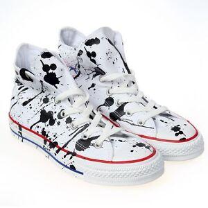 Details about CONVERSE All Star Chuck Taylor Sneakers Paint Splatter High Top, Sz 11, NEW