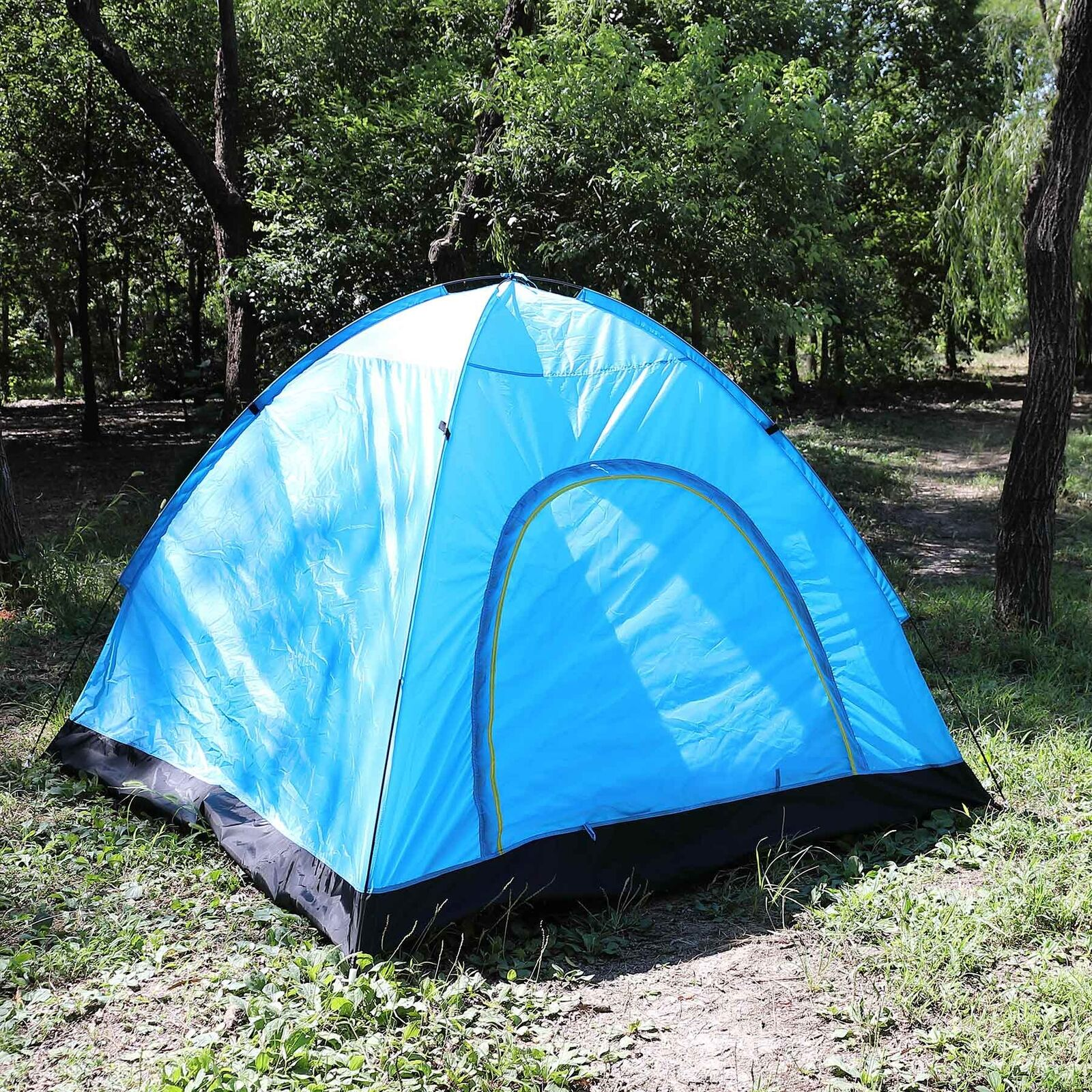 3-4  Person Water Resistant Camping Tent for Camping Hiking Outdoor Use  fashion mall