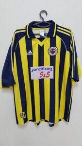 FENERBAHCE-TURKEY-1999-2000-HOME-FOOTBALL-SHIRT-JERSEY-ADIDAS-SIZE-XL-ADULT