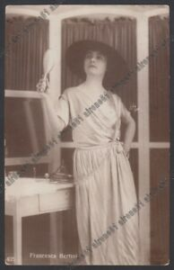 FRANCESCA-BERTINI-36-ATTRICE-ACTRESS-CINEMA-MUTO-SILENT-MOVIE-real-photo-1924