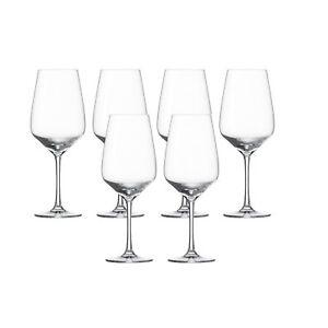 Schott-Zwiesel-Geschmack-Vino-weis-6-Weinglaser-Kristall-fur-Spulmaschine