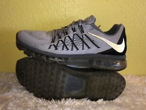 Details about Men's Nike Air Max 2015 Running Shoes 698902 009 Size 8 Wolf Grey *READ*