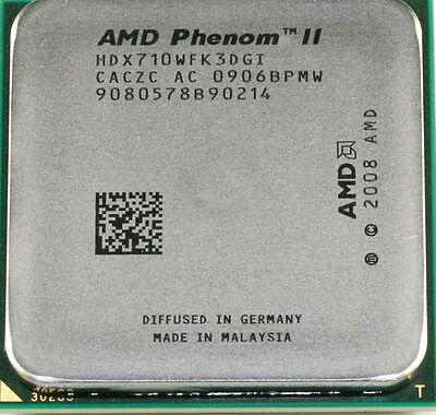 AMD CPU Phenom II X3-710 2.6GHz Socket AM3