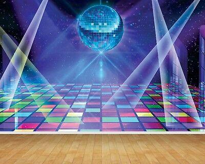 Disco Dance Floor Wallpaper Bespoke
