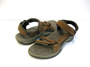 f1518523ea4369 teva terra fi lite leather women sandals brown us 7  uk 5  eu 38