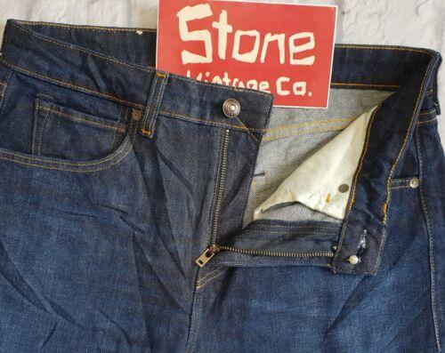 Blue amp; shrunk Dark L32 Tapered Made Zip Pre Crafted £180 Slim Levis Jeans W30 IYxZRZ