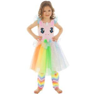 Disfraz Niña Carnaval Unicornio Arco Iris Ps 17811 - eBay