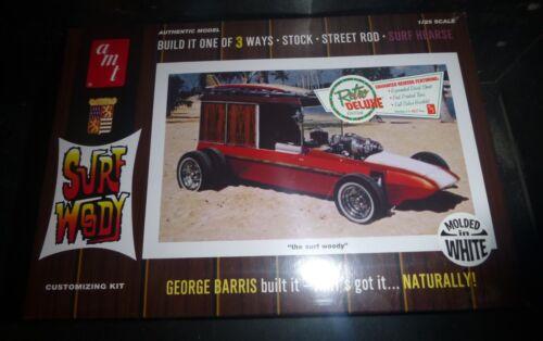 AMT 976 Surf Woody HEARSE 3n1 GEORGE BARRIS 1//25 MODEL CAR MOUNTAIN FS