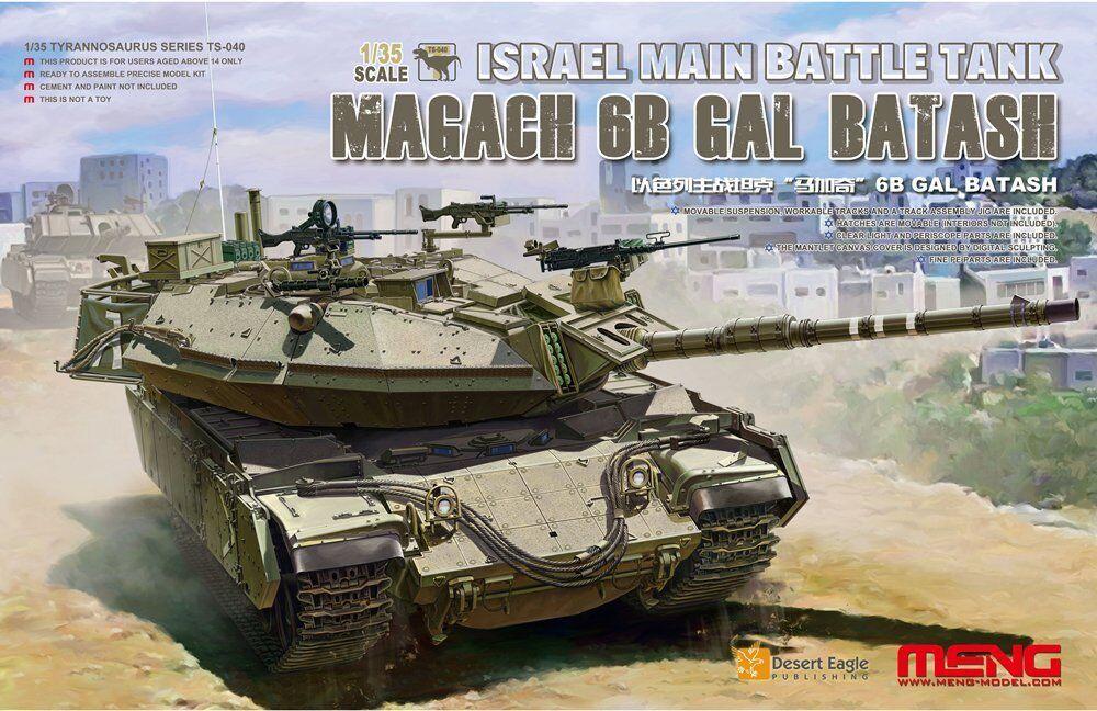 MENG 1 35 IDF ISRAEL BATTLE TANK MAGACH 6B GAL BATASH TS040