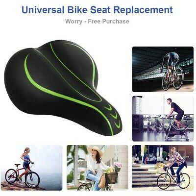 Bicycle Wide Big Bum 3D Ergonomic Seat Shock Absorber Mountain Road Bike Saddles